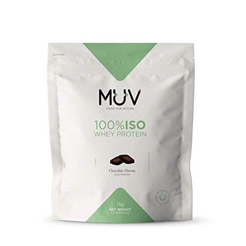 Muv Food For Action Iso Whey Protein Chocolate Flavour 1000 g
